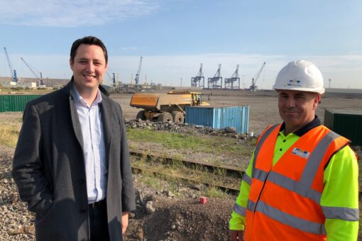 Former Steelworkers Back On Site At Teesworks