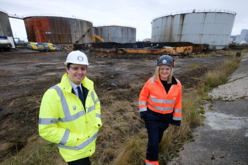 20 Jobs Created As Major Fuel Tank Demolitions Take Shape At Teesworks