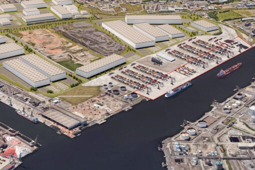 Mayor Unveils Plans For New £90million Quay On River Tees For World's Biggest Wind Farms