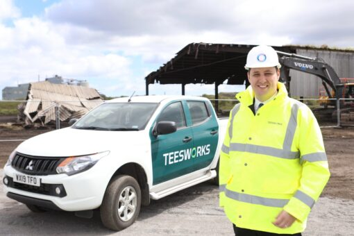 DEMOLITION BEGINS TO PAVE WAY FOR TEESSIDE FREEPORT AS MAYOR ANNOUNCES 10 NEW JOBS FOR FORMER STEELWORKERS