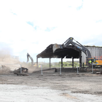 4 - Demolition of the Ferro Mangense Shed