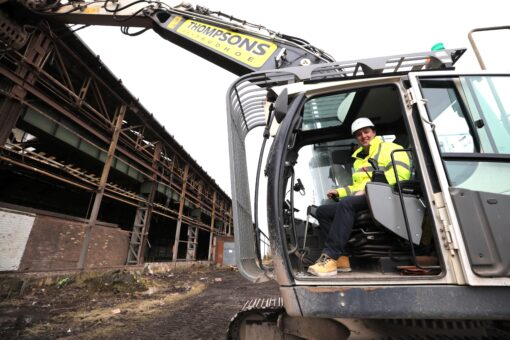 Major Demolition Project Begins On Teesworks' Torpedo Shed