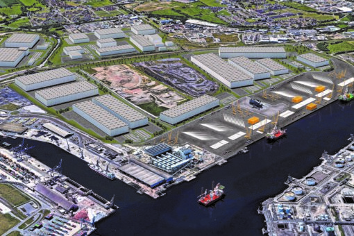Mayor Agrees Multimillion-Pound Deal With Global Manufacturing For Teesworks