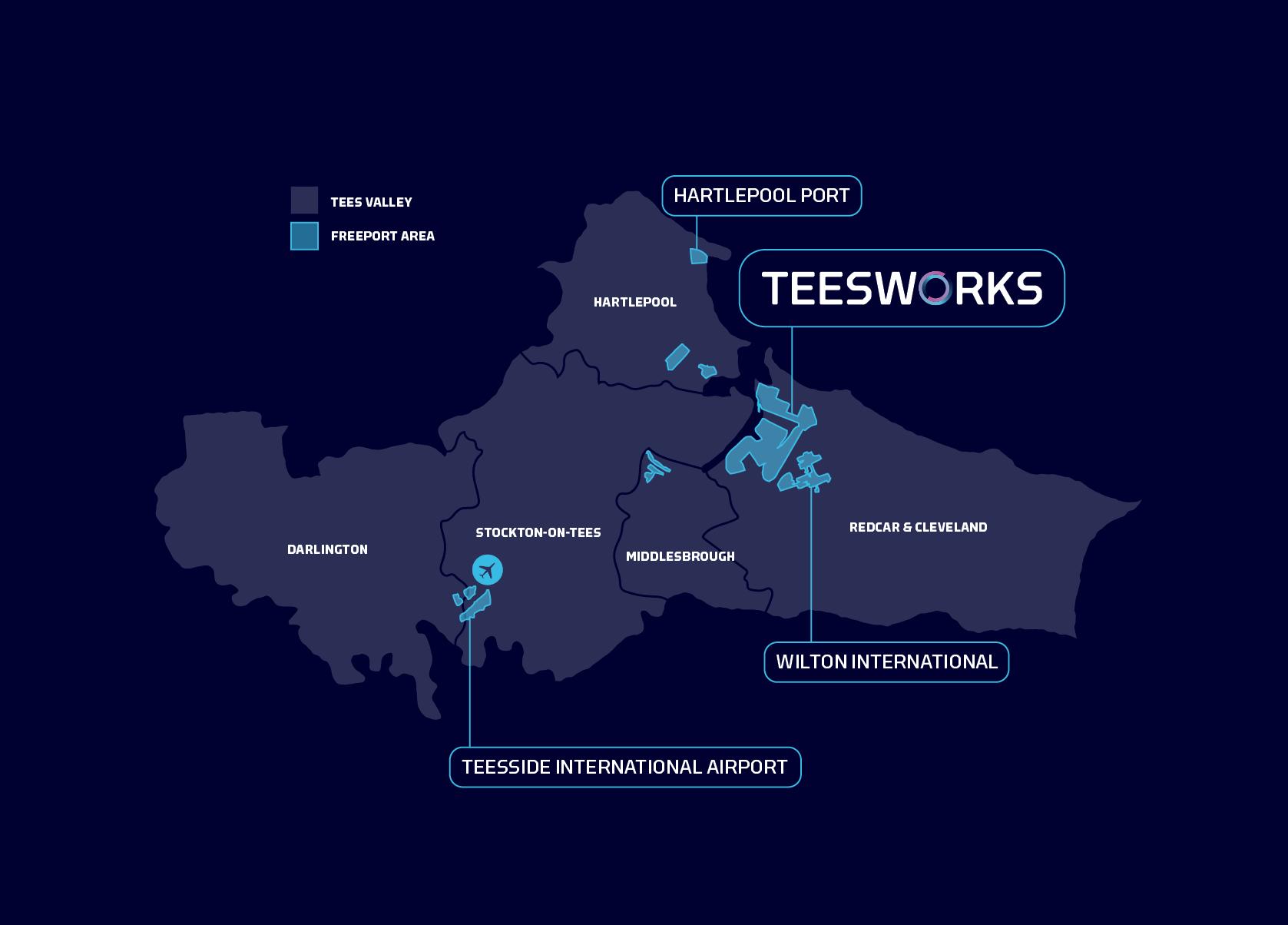 The Teesside Freeport - Teesworks