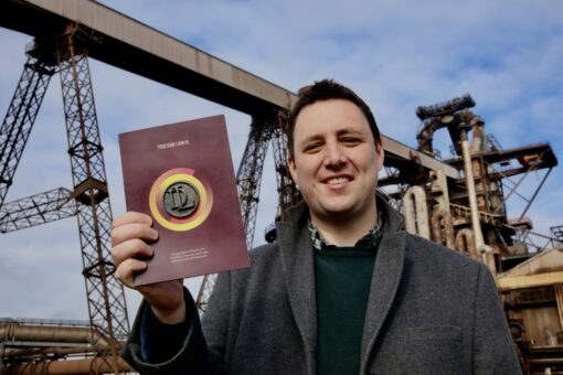 Mayor Launches Coin To Celebrate Steelmaking Heritage