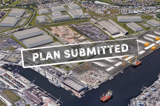 WORK RAMPS UP AS PLANS UNVEILED FOR TEESWORKS' OFFSHORE WIND FACTORY