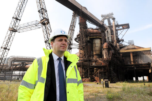 """MAYOR ANNOUNCES STEELWORKS SITE WILL BE """"DOWN WITHIN A YEAR"""""""