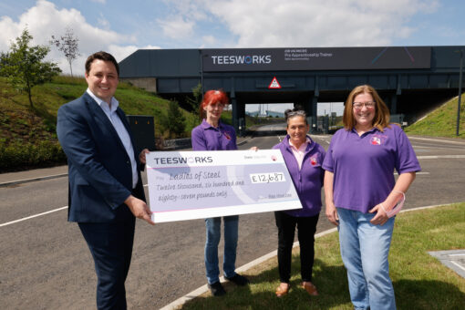 More Than £25,000 Raised for Good Causes as Teesworks Coins Sell Out