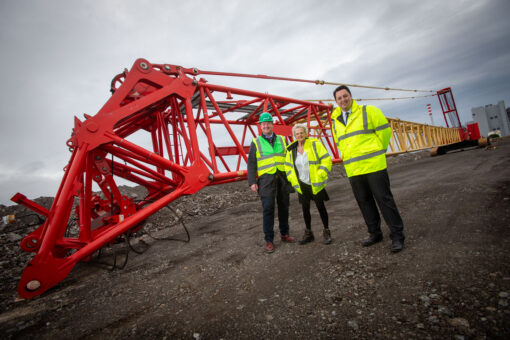 CONSTRUCTION STARTS ON QUAYSIDE FOR THE UK'S PREMIER OFFSHORE WIND HUB