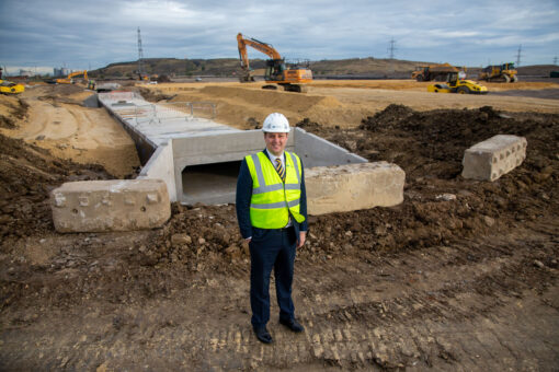 WORK RAMPS UP ON NEW ROUNDABOUT FOR TEESWORKS ACCESS